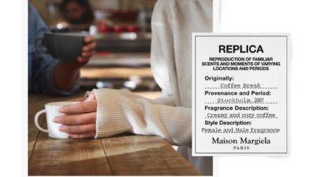 Maison Margiela Replica Coffee break: la nuova fragranza ispirata all'aroma di caffè