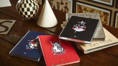 Montblanc Yoox by Stizzo: la capsule collection di Notebook in edizione limitata