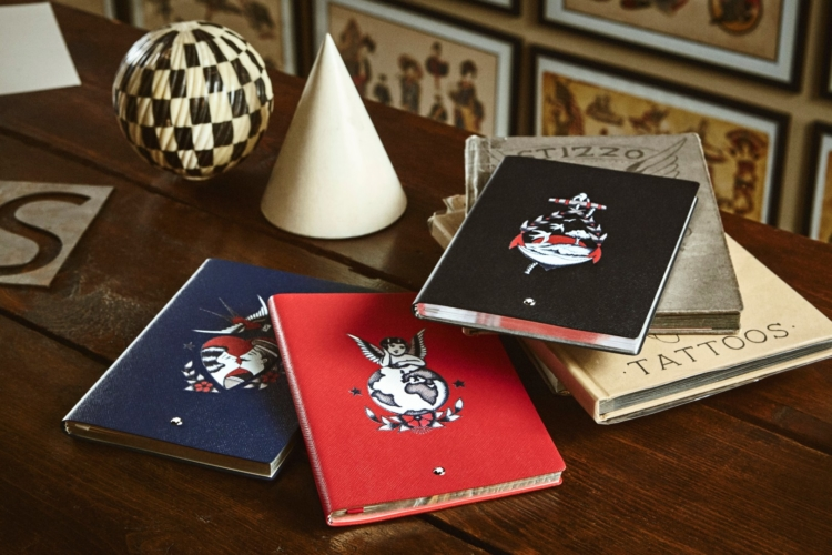 Montblanc Yoox by Stizzo: la capsule collection di Notebook in edizione limitata