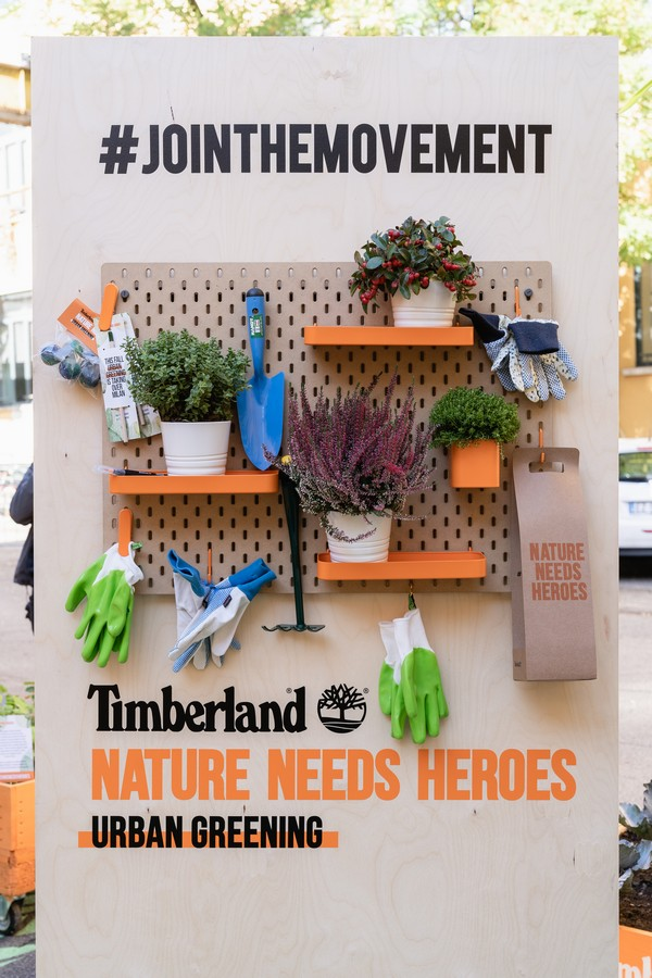 Timberland Urban Greening Base Milano