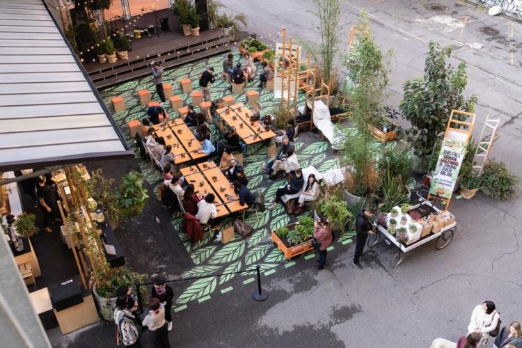 Timberland Urban Greening Base Milano: il nuovo spazio verde speciale