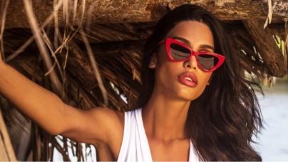 Victoria's Secret Miss Bikini Luxe: gli occhiali protagonisti della campagna beachwear