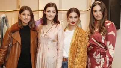 forte_forte boutique Londra: il cocktail party con Pixie Geldof e Amber Le Bon