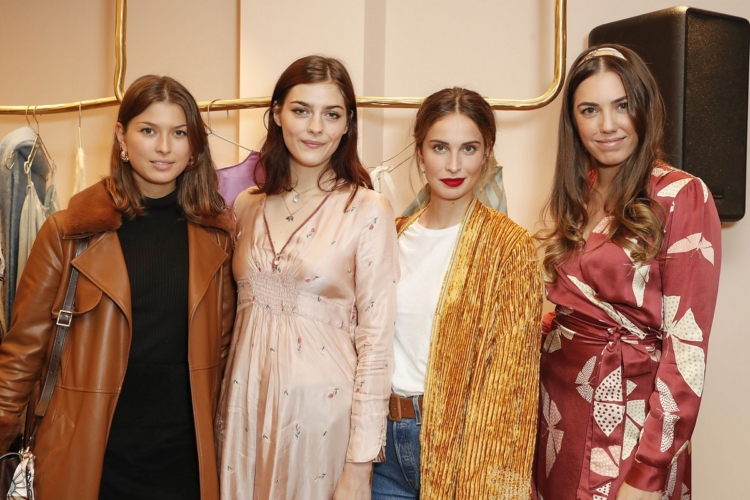 forte_forte boutique Londra: il cocktail party con Pixie Geldof e Amber Le Bon