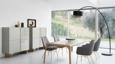 Arredamento soggiorno moderno design: l'eleganza moderna di Presotto