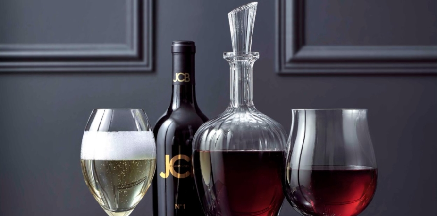 Baccarat Passion Collection: bicchieri e decanter per vino e champagne