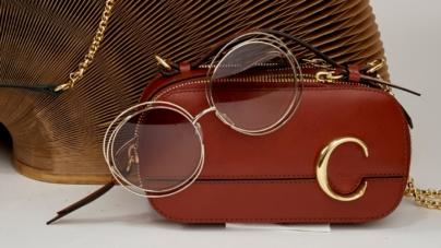 Chloé occhiali da sole 2019: la nuova borsa C e il modello Bonnie