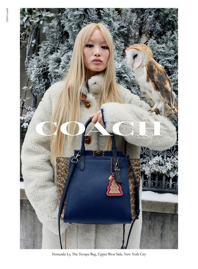 Coach campagna Natale 2019