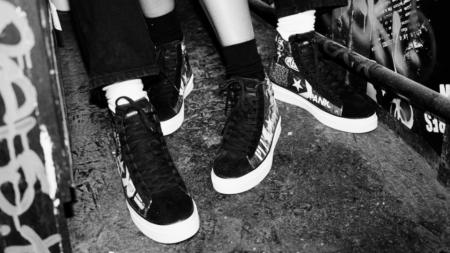 Converse Pleasures Pro Leather: la capsule dal mood punk-rock