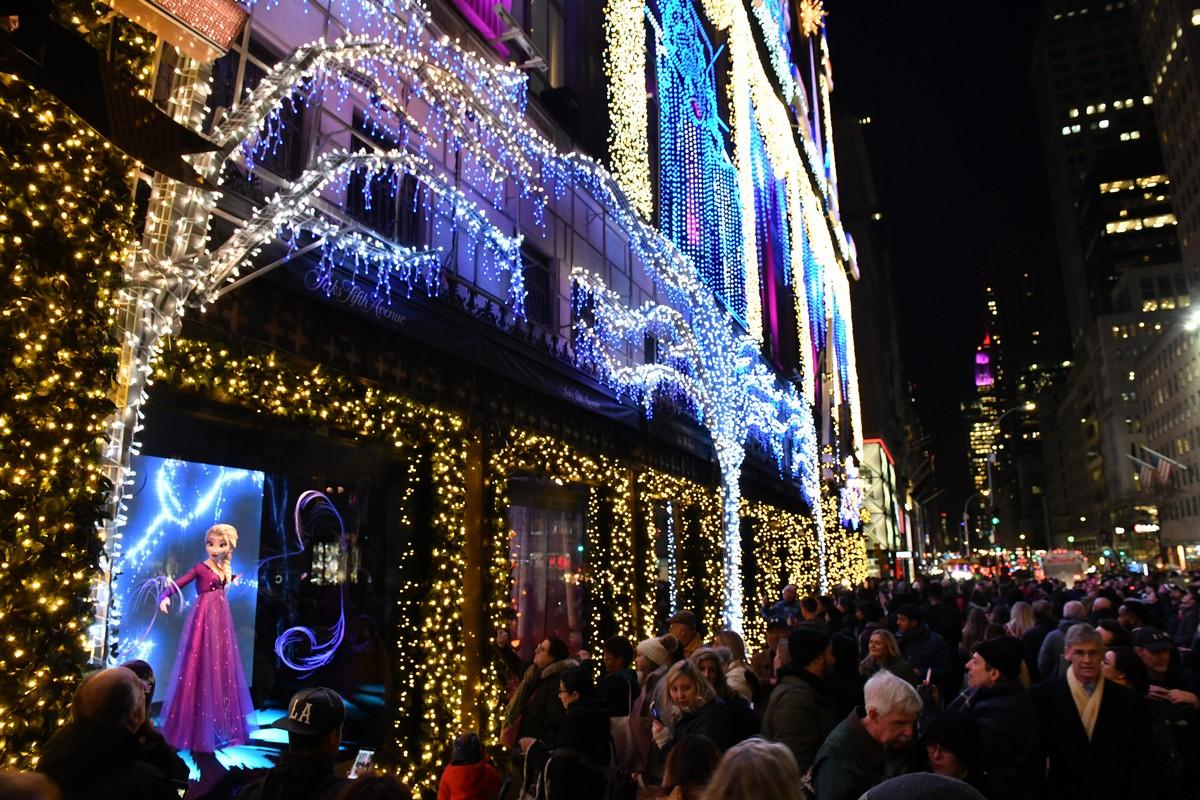 Disney Frozen 2 Saks Fifth Avenue