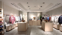 Falconeri boutique New York: il party con Irina Shayk