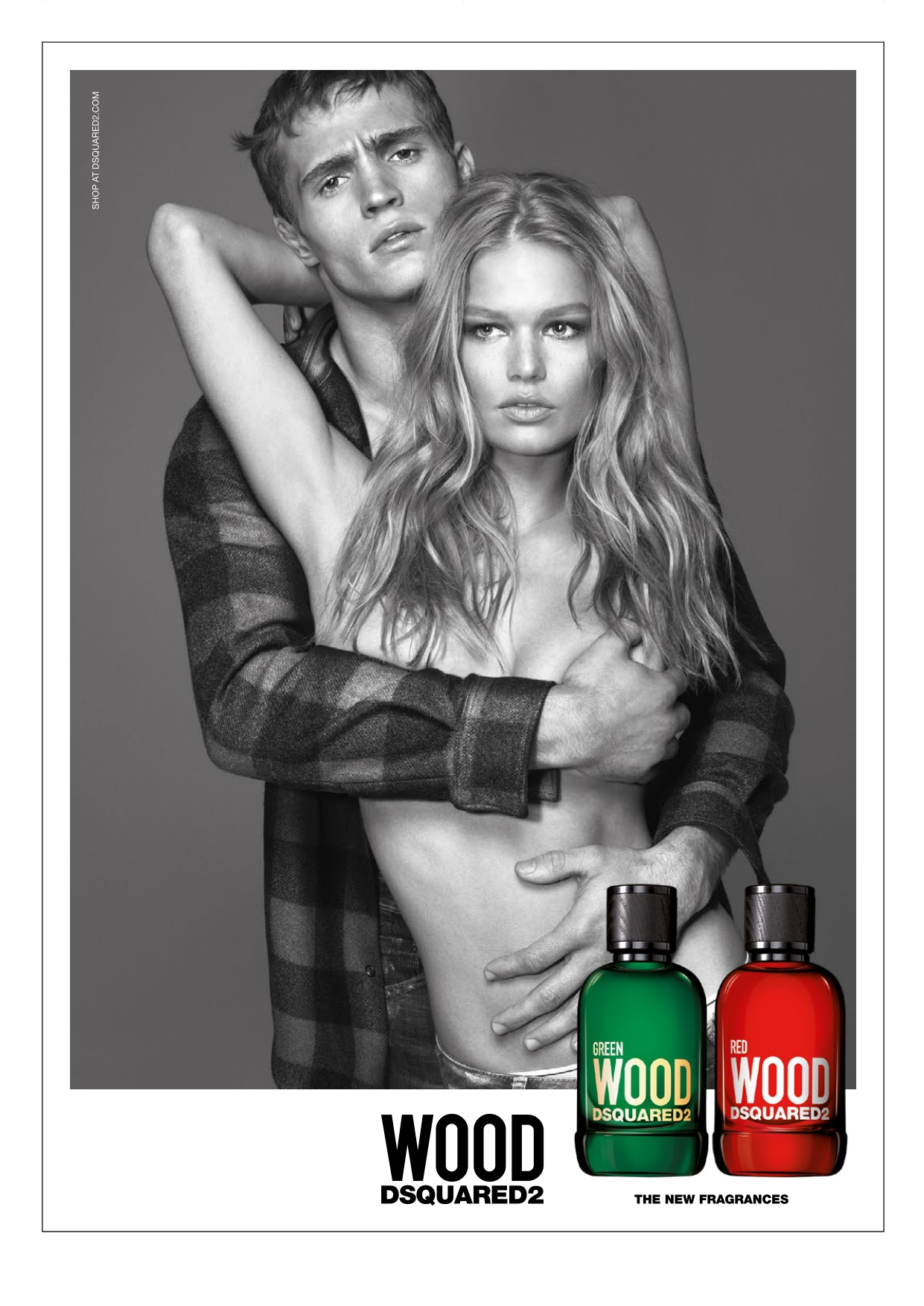 Green Wood e Red Wood profumi Dsquared2