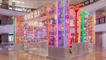 Gucci Pin temporary store: i nuovi pop-up immersivi ed interattivi