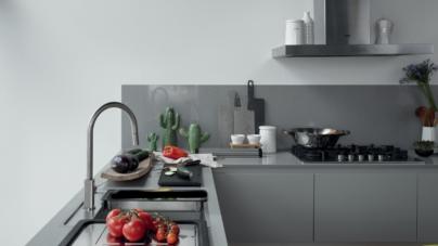Lavelli cucina Franke 2019: Maris e Urban, le vasche in acciaio o Fragranite