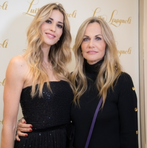 Luisa Spagnoli via Frattina Roma: l'opening party con Elena Santarelli