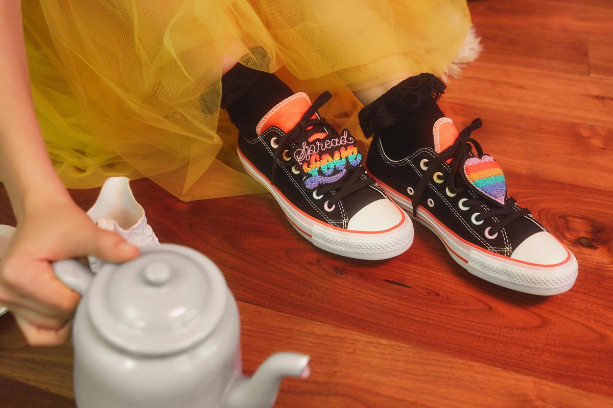 Millie Bobby Brown Converse