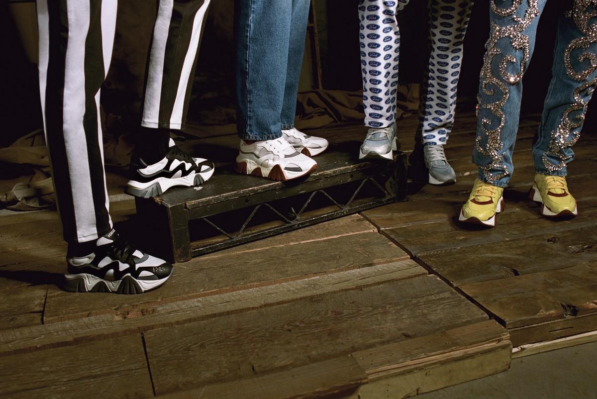 Versace sneaker Squalo 2019