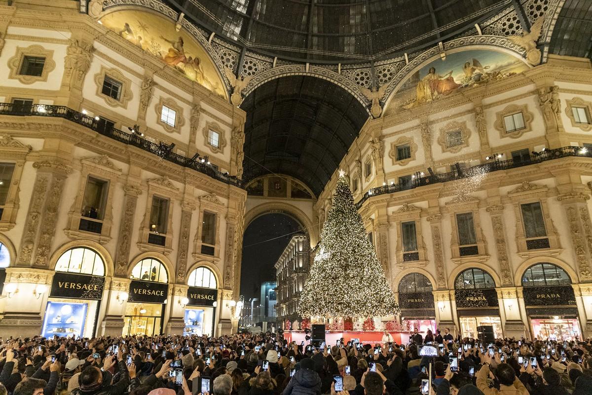 Albero di Natale Swarovski Milano 2019