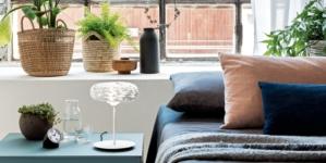 Alessi lampada da tavolo Barklamp: il design esalta la lavorazione dell'acciaio