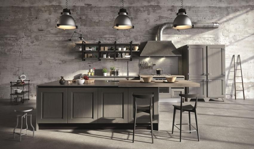 Aran Cucine modello Bellagio: l'atmosfera calorosa delle cascine in campagna