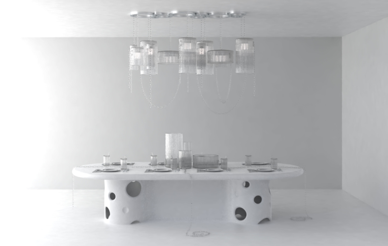 Art Basel Miami 2019 Baccarat: la collezione in edizione limitata Crystal Clear by Virgil Abloh