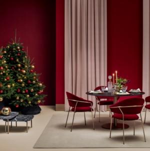 Atmosfera natalizia in casa: lo stile sobrio, caldo ed elegante di Pedrali