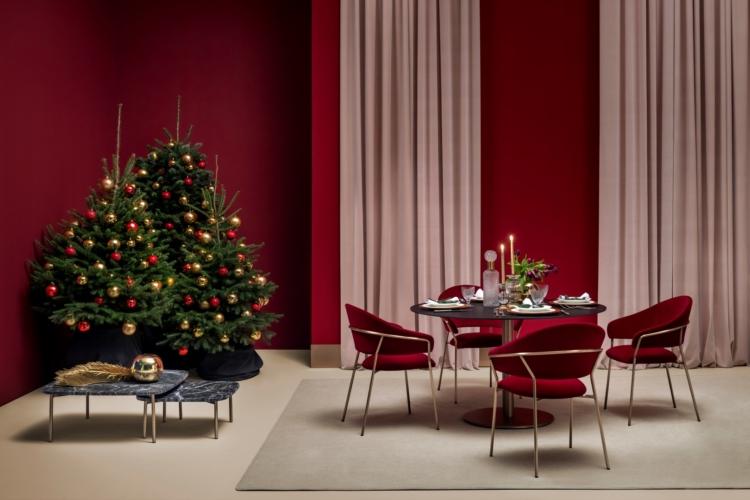 Atmosfera natalizia in casa