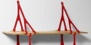Design Miami 2019 Louis Vuitton: la Swell Wave Shelf di Andrew Kudless