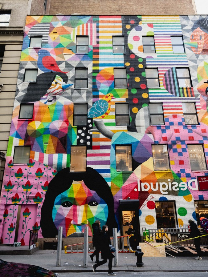 Desigual New York Statue of All Cultures