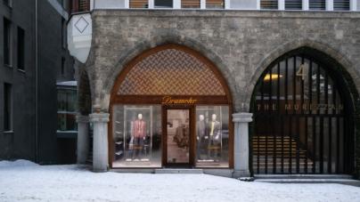 Drumohr Saint Moritz: il nuovo flagship store nella famosa località del turismo invernale