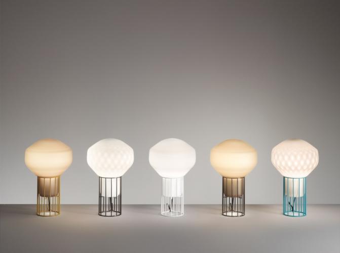 Fabbian Aerostat lampada da tavolo: la nuova limited edition