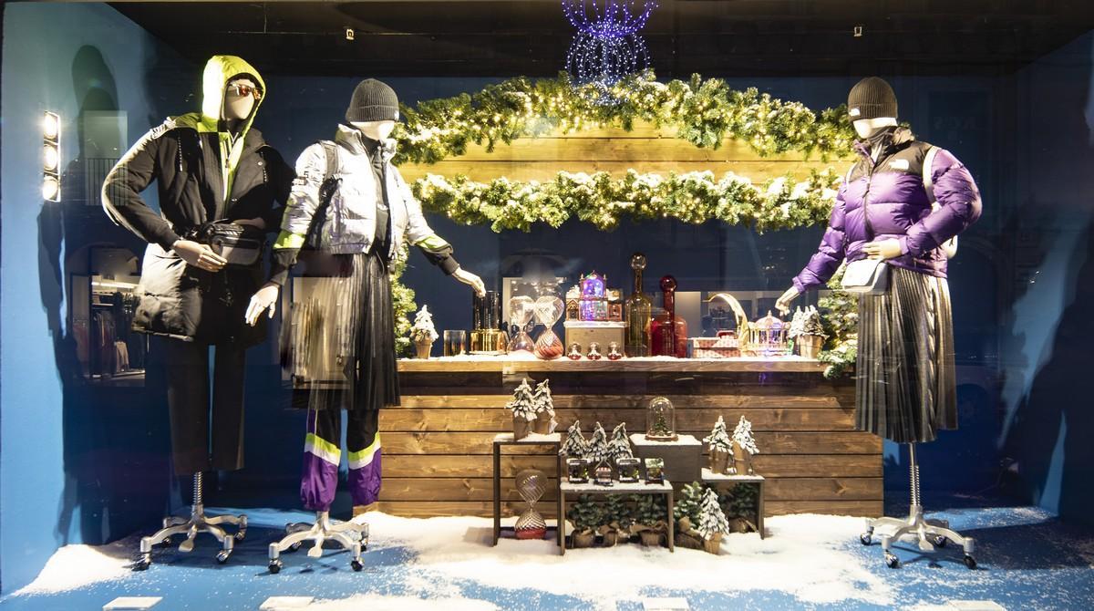 La Rinascente vetrine Natale 2019