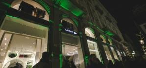 Lacoste Milano Via Dante: il party d'inaugurazione della boutique del Coccodrillo