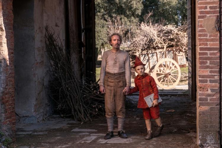 Pinocchio Matteo Garrone costumi film: in mostra a Prato