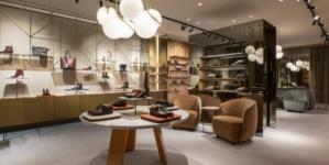 Santoni New York Madison Avenue: il nuovo flagship store firmato Patricia Urquiola