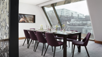 South Place Hotel Londra: Bross arreda il ristorante stellato Angler