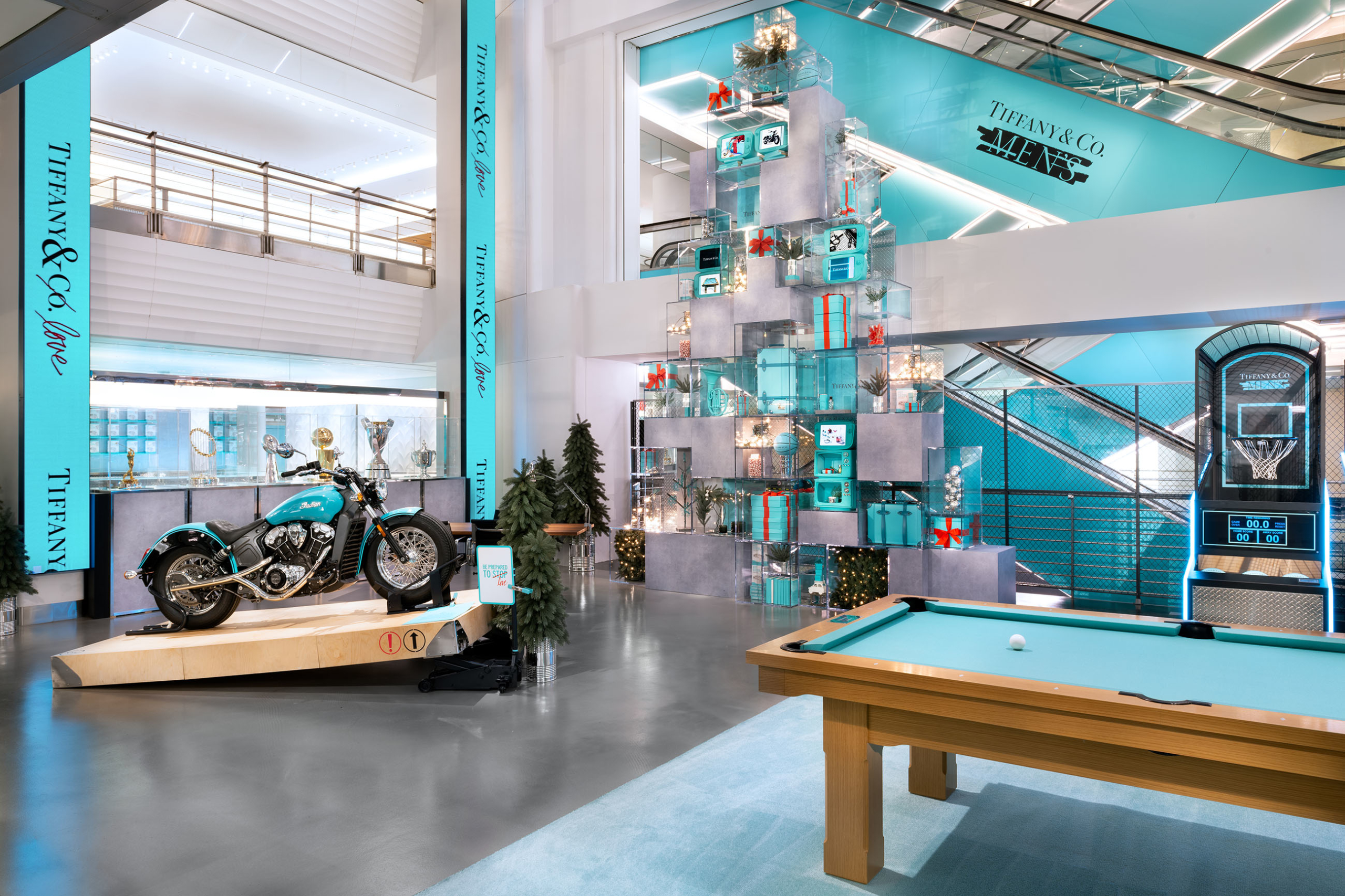 Tiffany Men's Pop-Up Shop