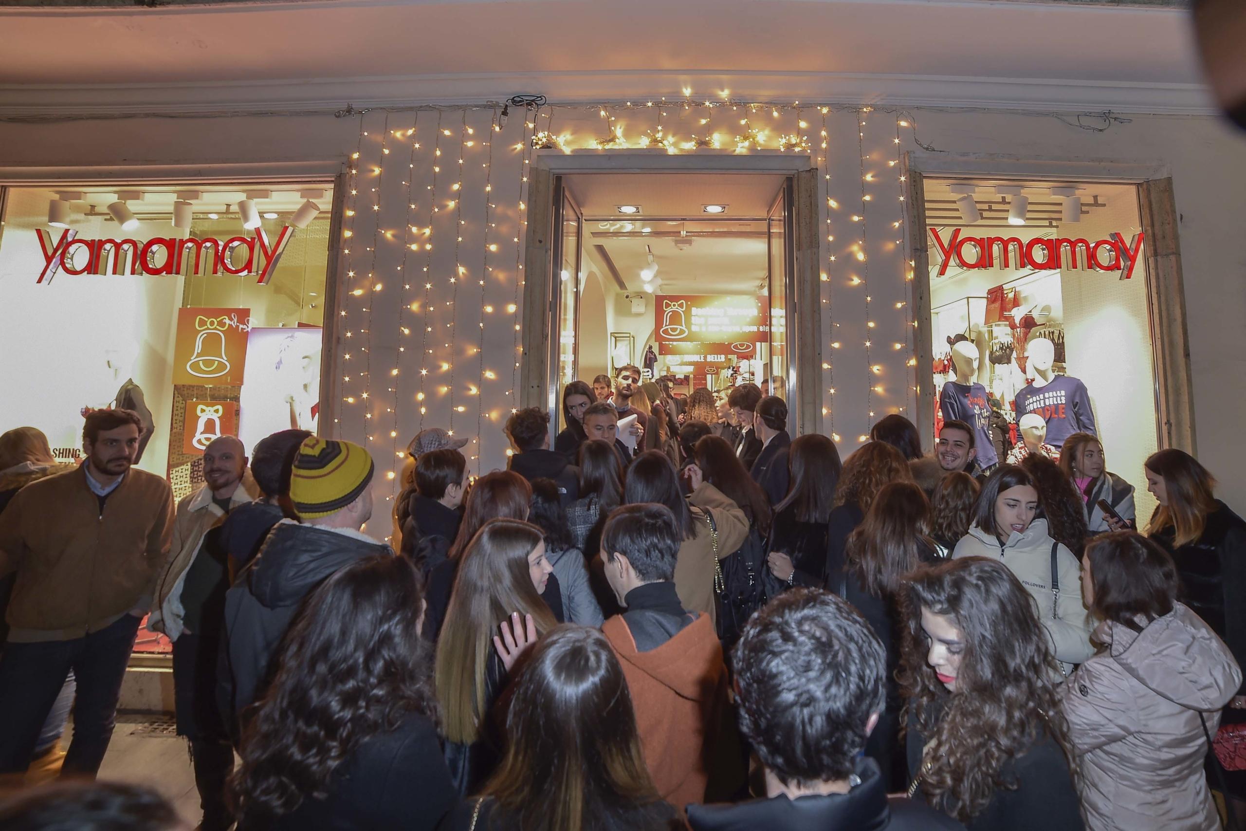 Yamamay Roma Natale 2019