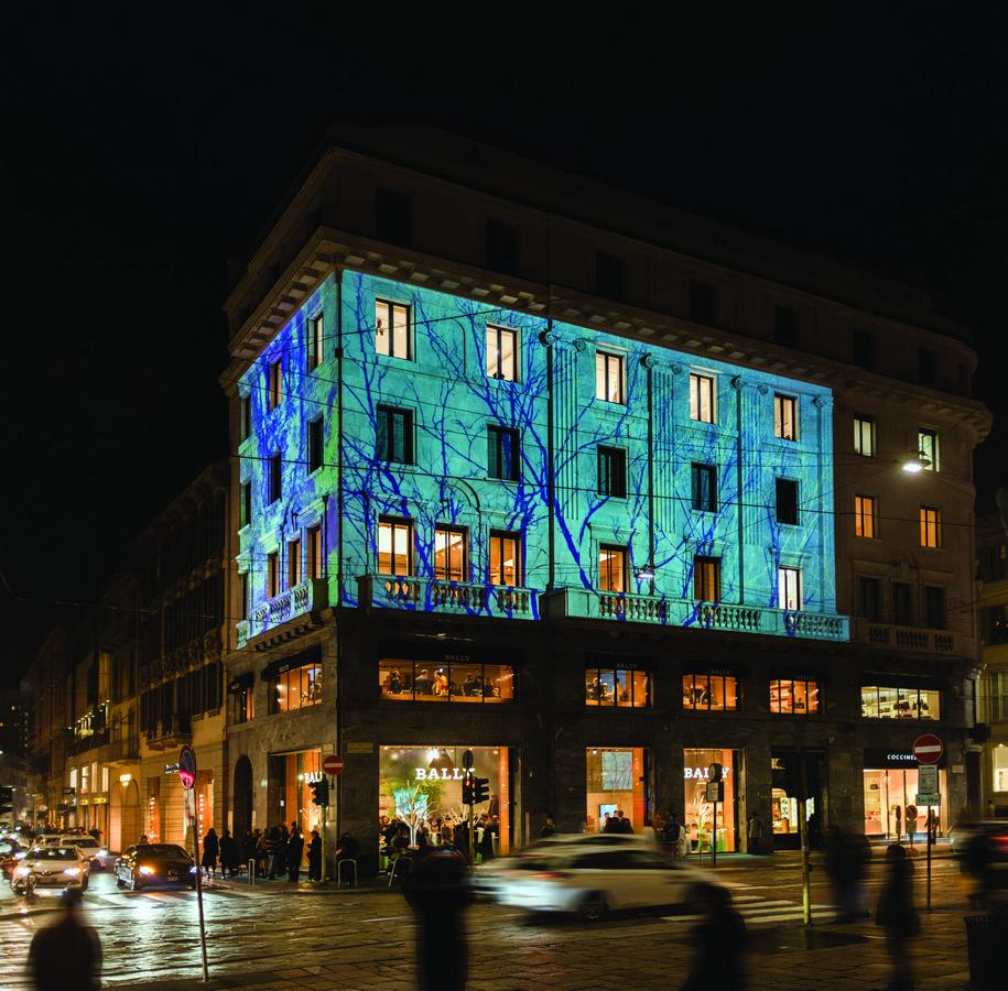 Bally Haus Milano Via Montenapoleone