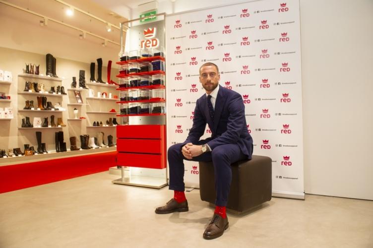 Claudio Marchisio RED: il nuovo brand ambassador, le foto