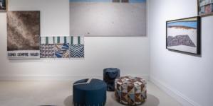 DimoreMilano Progetto Tessuti 2020: la nuova collezione di tessuti e la linea di pouf