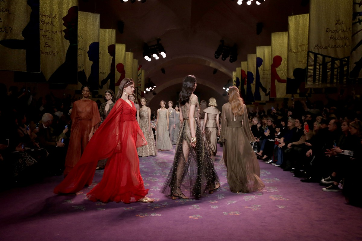 Dior Haute Couture primavera estate 2020