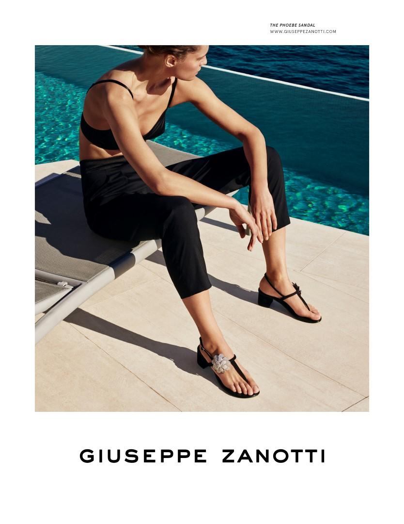 Giuseppe Zanotti campagna primavera estate 2020