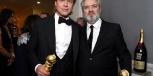 Golden Globe party 2020: Brad Pitt, Sam Mendes e Quentin Tarantino brindano con Moët & Chandon