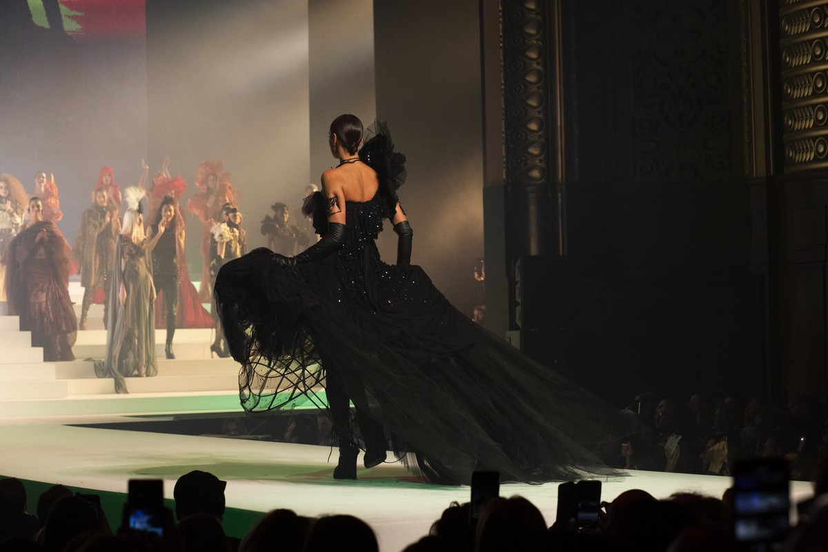 Jean Paul Gaultier sfilata 50 anniversario