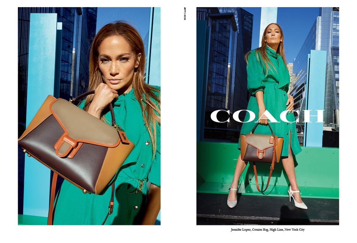 Jennifer Lopez Coach campagna 2020