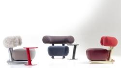 Maison Objet Gennaio 2020 Moroso: la collezione Gogan e le sedute Precious