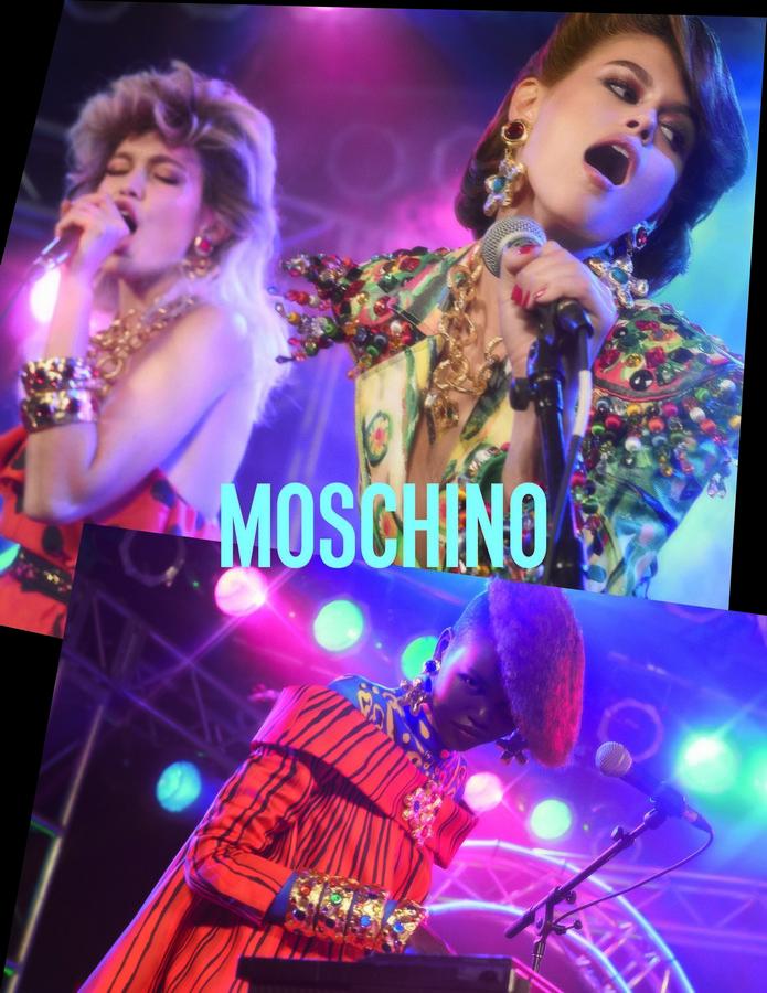 Moschino campagna primavera estate 2020
