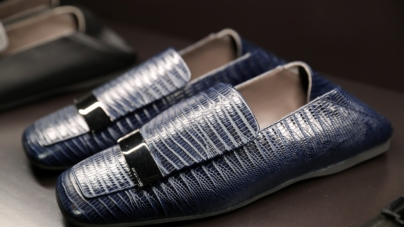 Sergio Rossi scarpe uomo autunno inverno 2020: la dinamica linea maschile