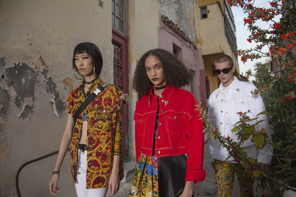 Versace Jeans Couture campagna primavera estate 2020